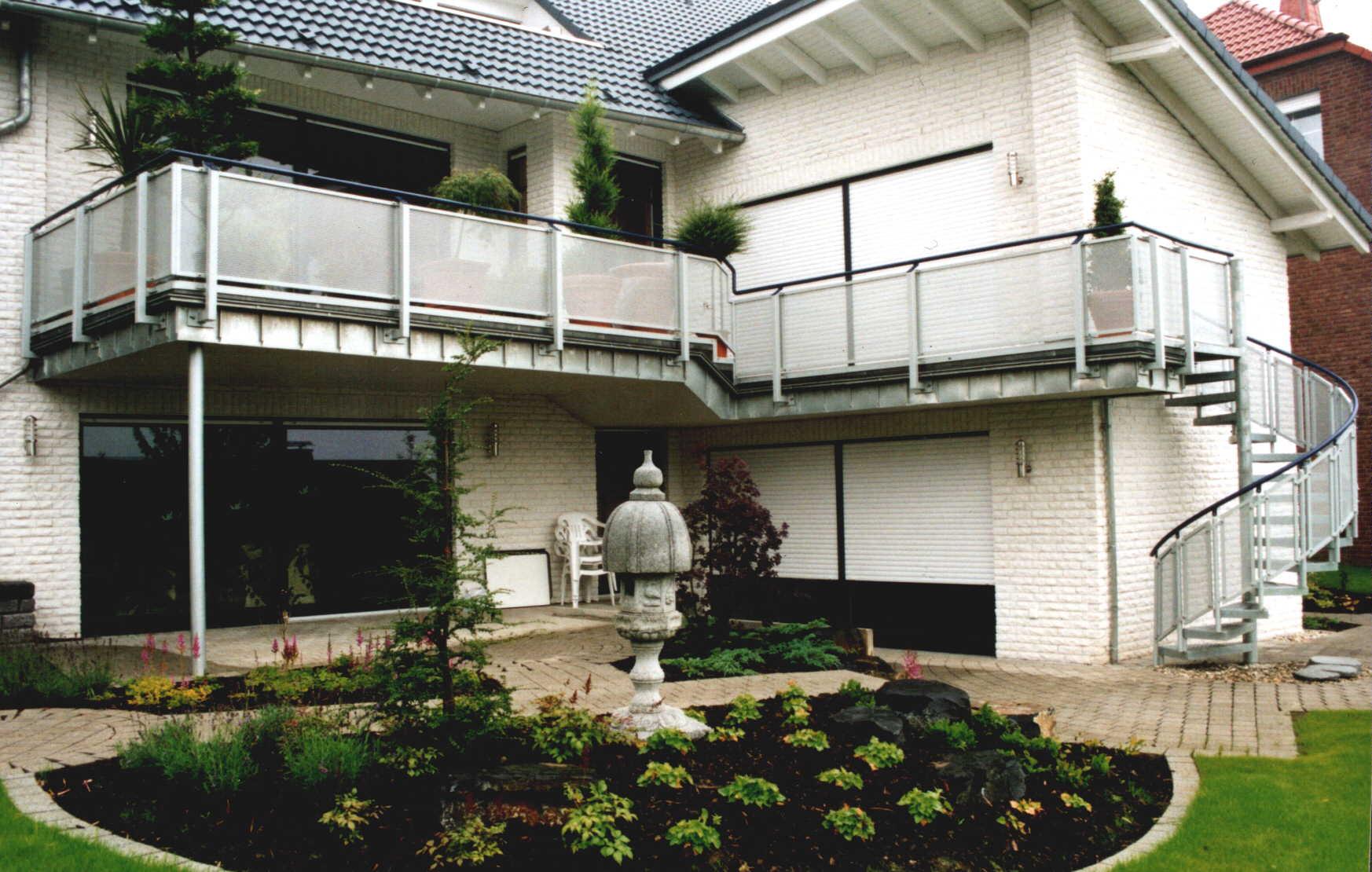 balkongel nder metatec gmbh treppen gel nder balkongel nder terrassengel nder. Black Bedroom Furniture Sets. Home Design Ideas